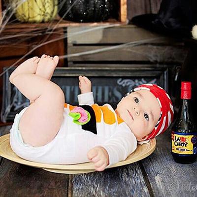 traje sushi para bebe