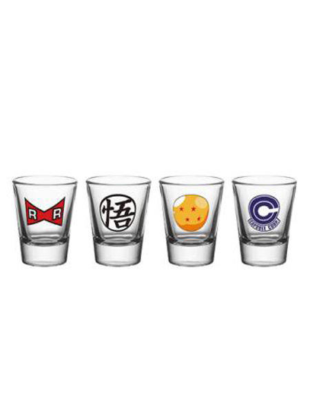vasos dragon ball